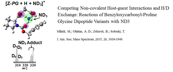 Research - Competing Non-covalent Host-guest Interactions
