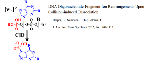 Research - DNA Oligonucleotide Fragment Ion Rearrangements