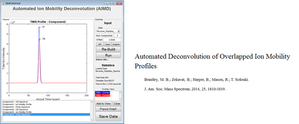 Research - Automated Deconvolution of Overlapped Ion Mobility Profiles