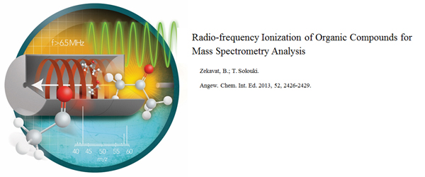 Research - Radio-frequency Ionization of Organic Compounds