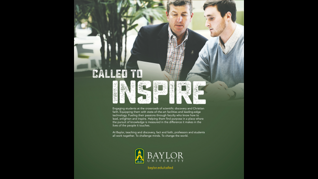 Called to Inspire print ad