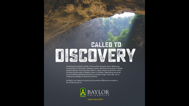 Called to Discovery print ad