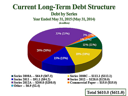 Debt by Series