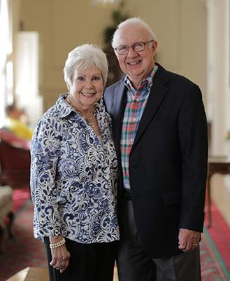 David and Shirley Lake