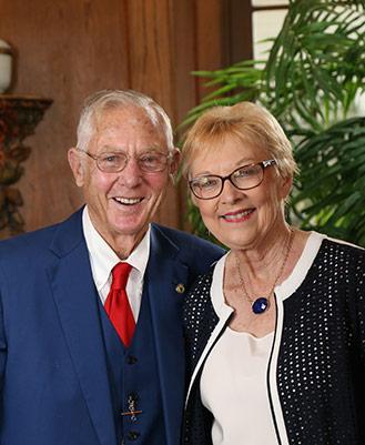 George and Martha Chandler