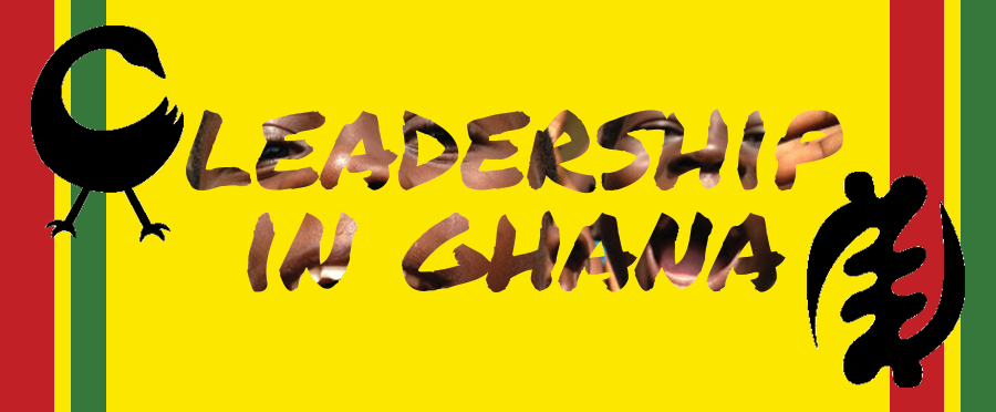Leadership in Ghana Button