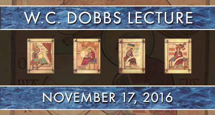 2016 W.C. Dobbs Endowed Lecture