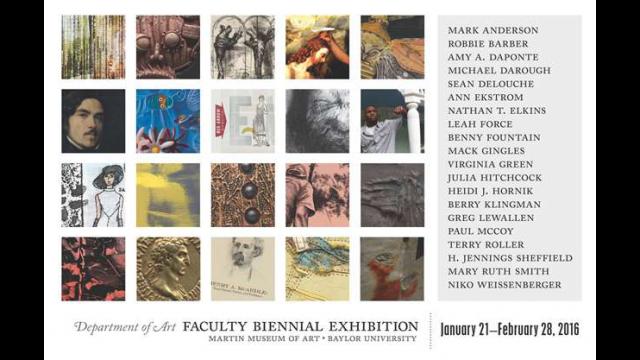 Faculty Biennial Exhibition