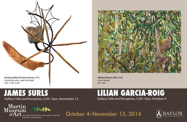 Surls & Garcia-Roig Card, Fall 2014