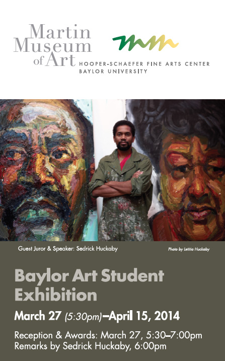 Student Exhibition Card, Spring 2014
