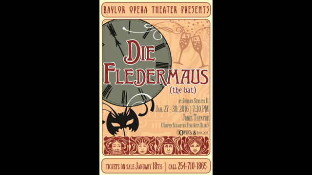 play bill Die Fledermaus