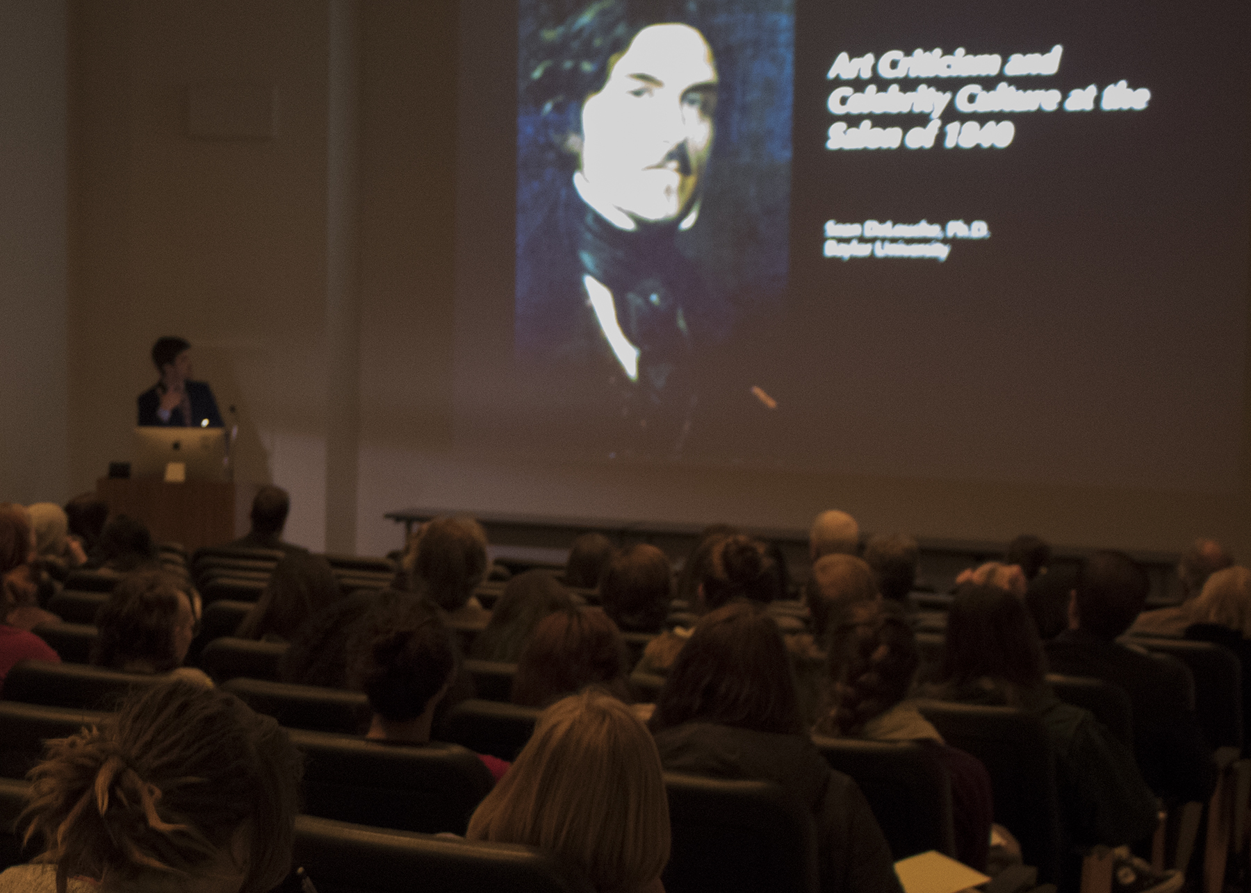 Art History Faculty Lectures, Delouche, Spring 2016
