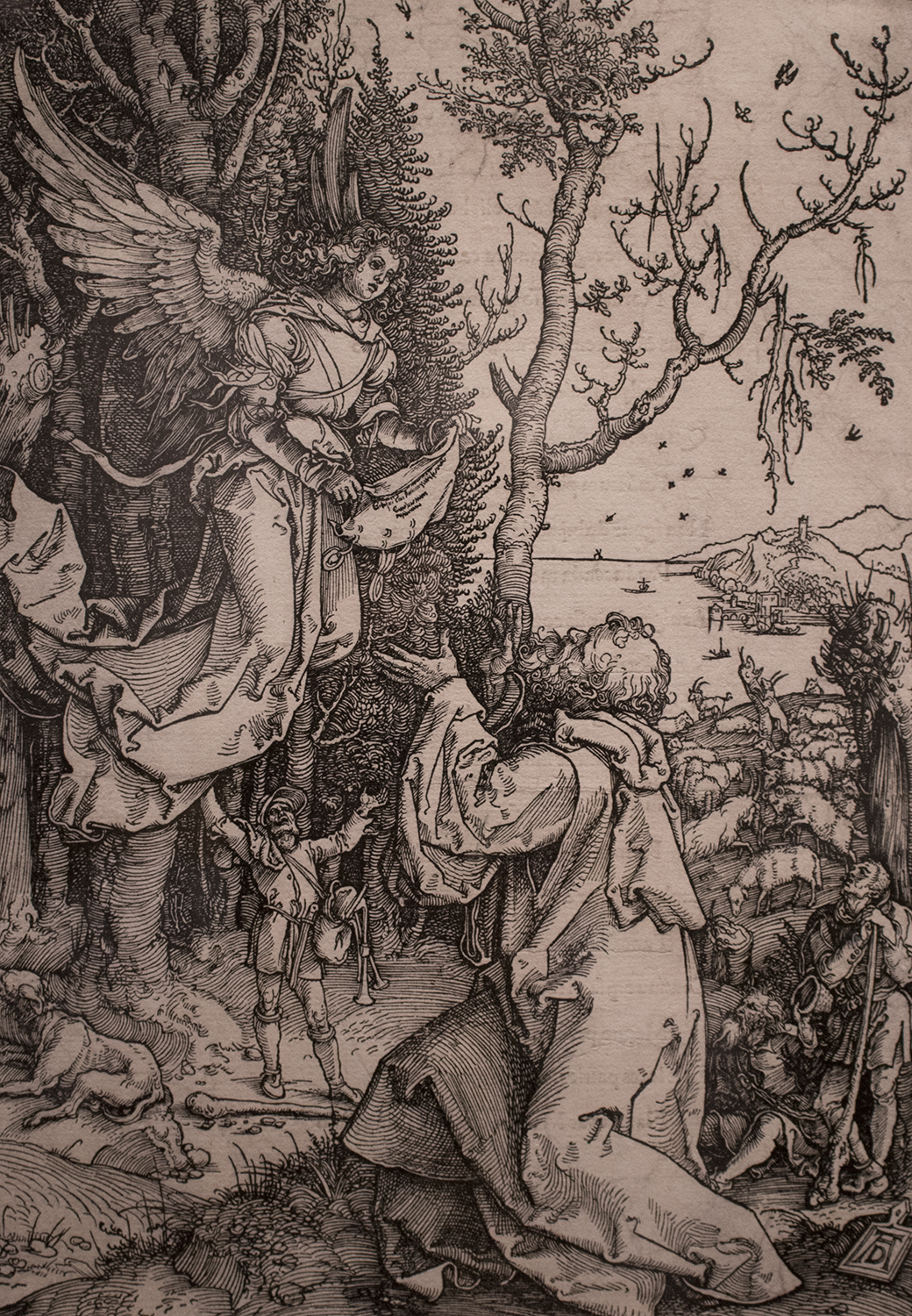 Albrecht Durer, <i>Joachia and the Angel</i>, 1511