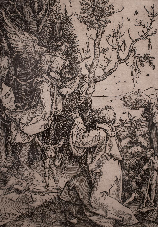 Albrecht Durer, <i>Joachia and the Angel</i>, 1511