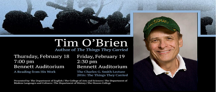 Banner: English Dept OBrien