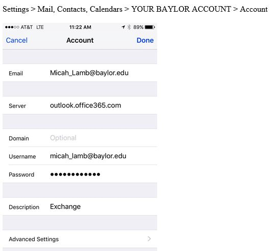 Outlook 365 | Information Technology Services | Baylor