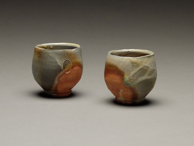 Little Sips | wood-fired stoneware, 2.5 x 2 x 2, 2009