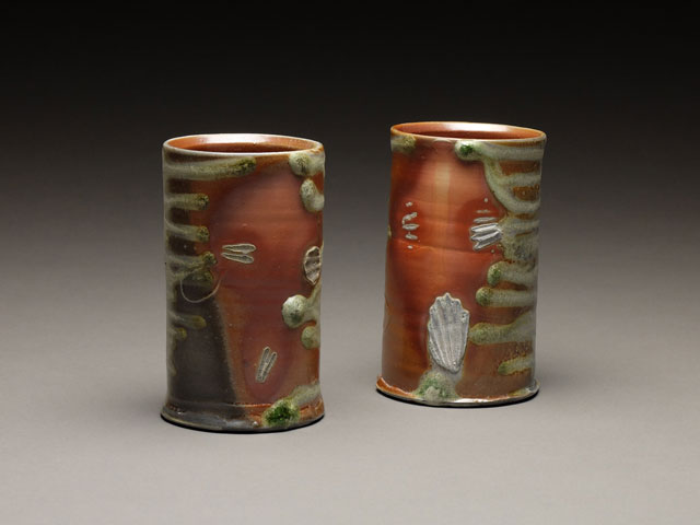 Firebox Cups | wood-fired stoneware,  4.5 x 3,  2015