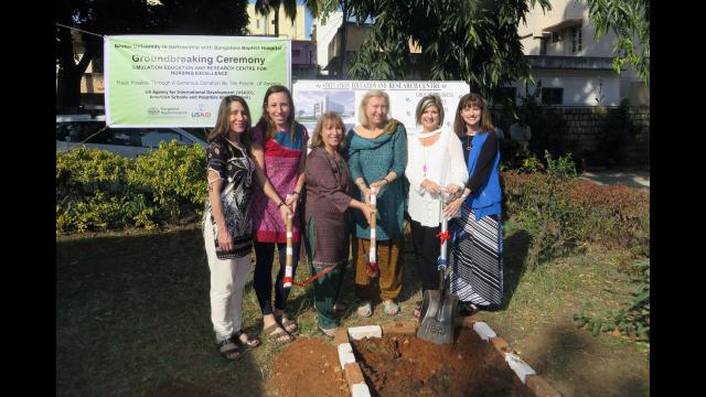 Nursing India Groundbreaking