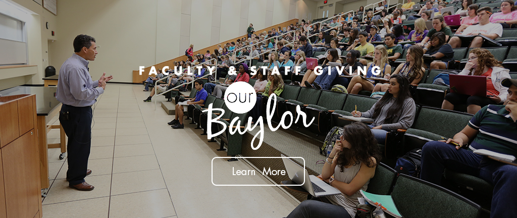Our Baylor Faculty