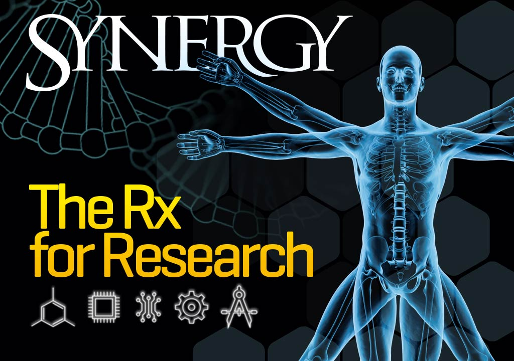 Synergy 2016 Cover - The Rx for Research