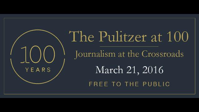 Pulitzer at 100