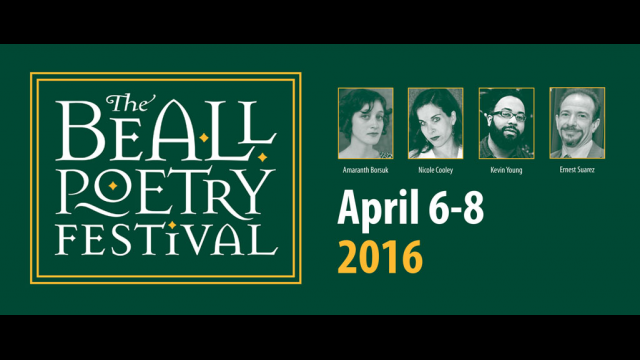 Beall Poetry Festival graphic