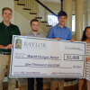 Four Baylor Sophomores Honored for Social Justice and Grant-Writing Project