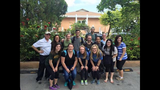 Haiti BU Missions team