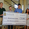 Four Baylor BIC Sophomores Honored for Social Justice and Grant-Writing Project