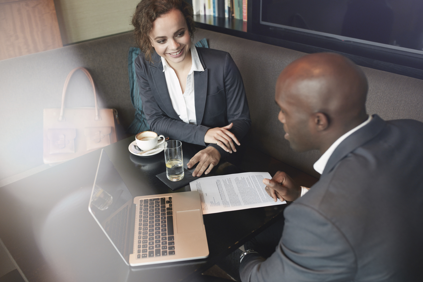 Stock Photo of a business meeting
