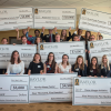 [Philanthropy Lab big check presentation]