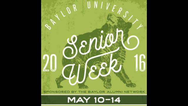 senior week logo