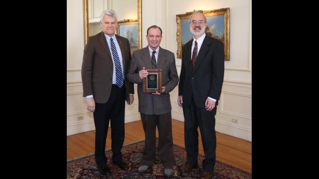 Dr. Johnny Henderson, Lance Littlejohn and James Bennighof