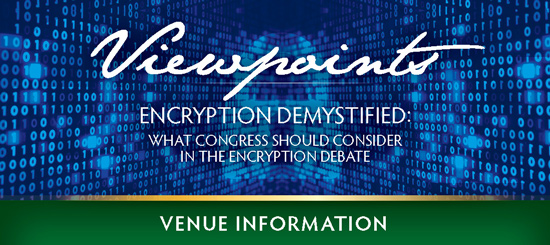 Viewpoints Banner: Encryption Demystified