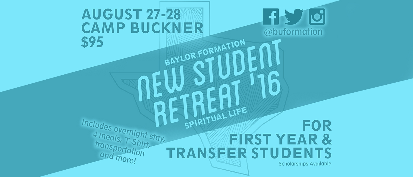 New Student Retreat Message Center