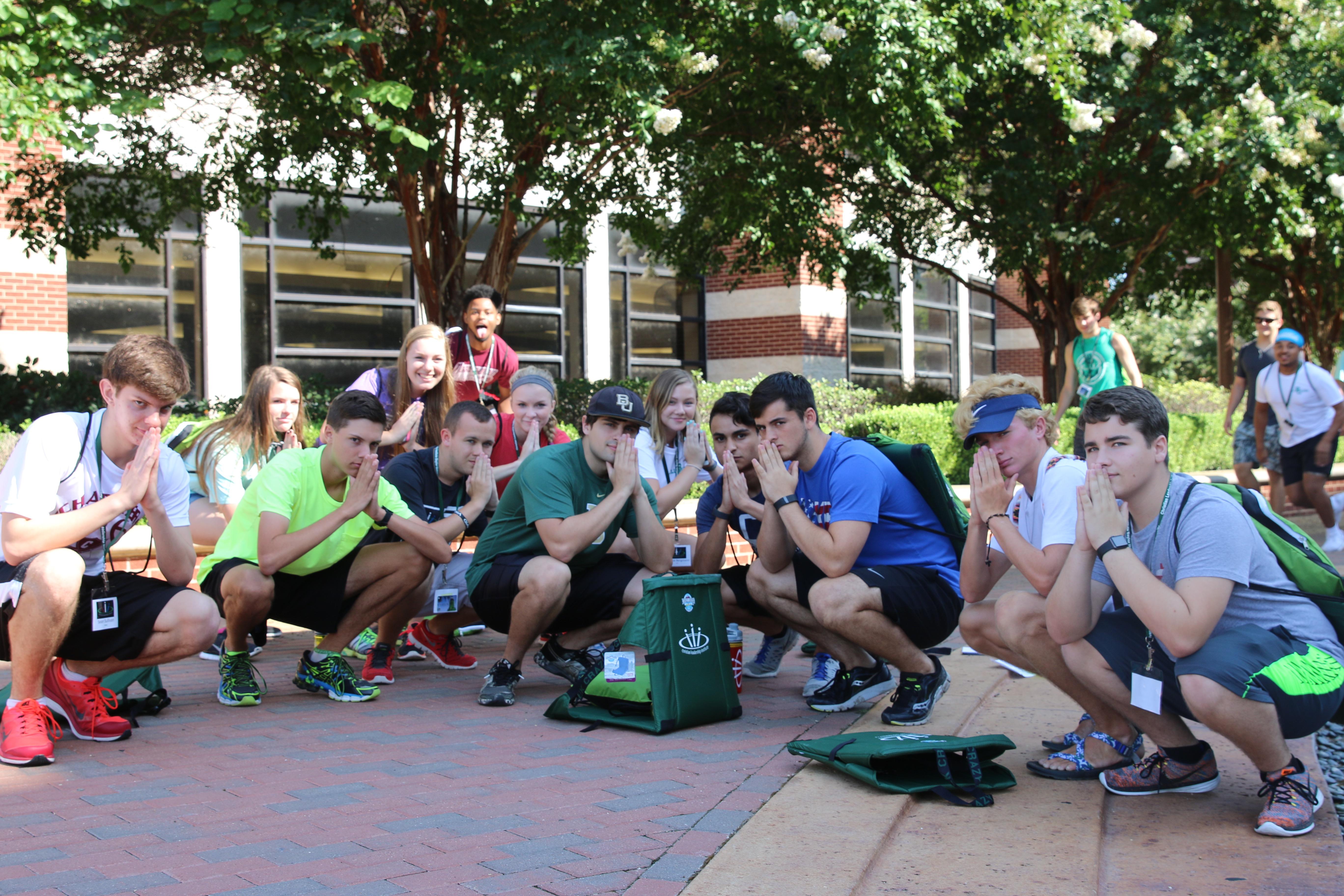 CLI 2016 small group fountain