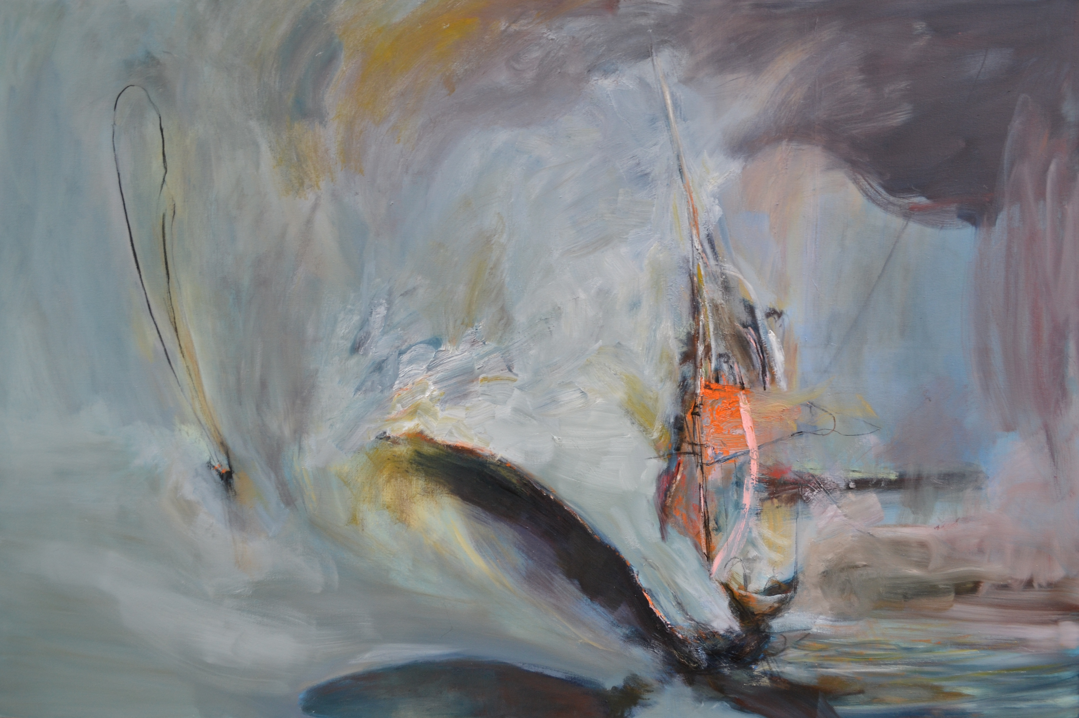 Ahab's Dream | Oil on canvas | 48