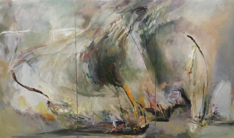 Dante's Gate   Oil on canvas    72