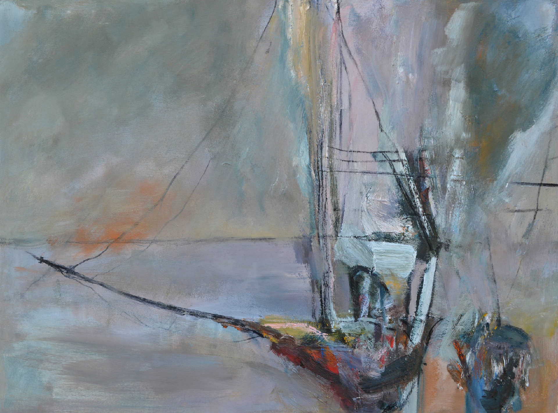 Vessels | Oil on canvas | 32