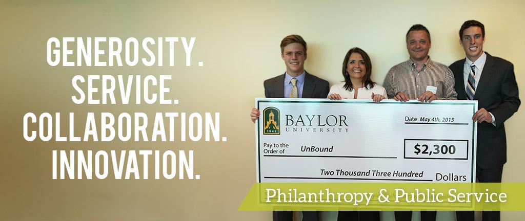 Philanthropy & Public Service Program
