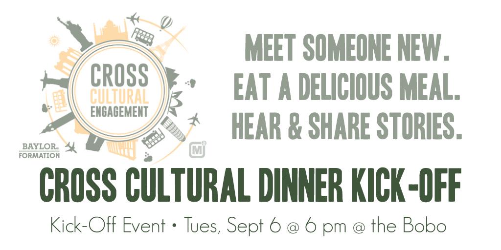 Cross Cultural Dinner Kick Off