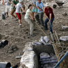 University Scholars Unearth Mosaics in Synagogue Ruins