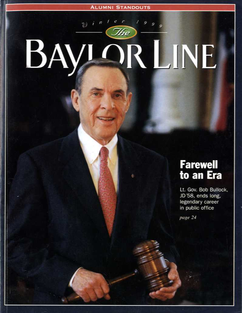 Bullock-Baylor Line Cover