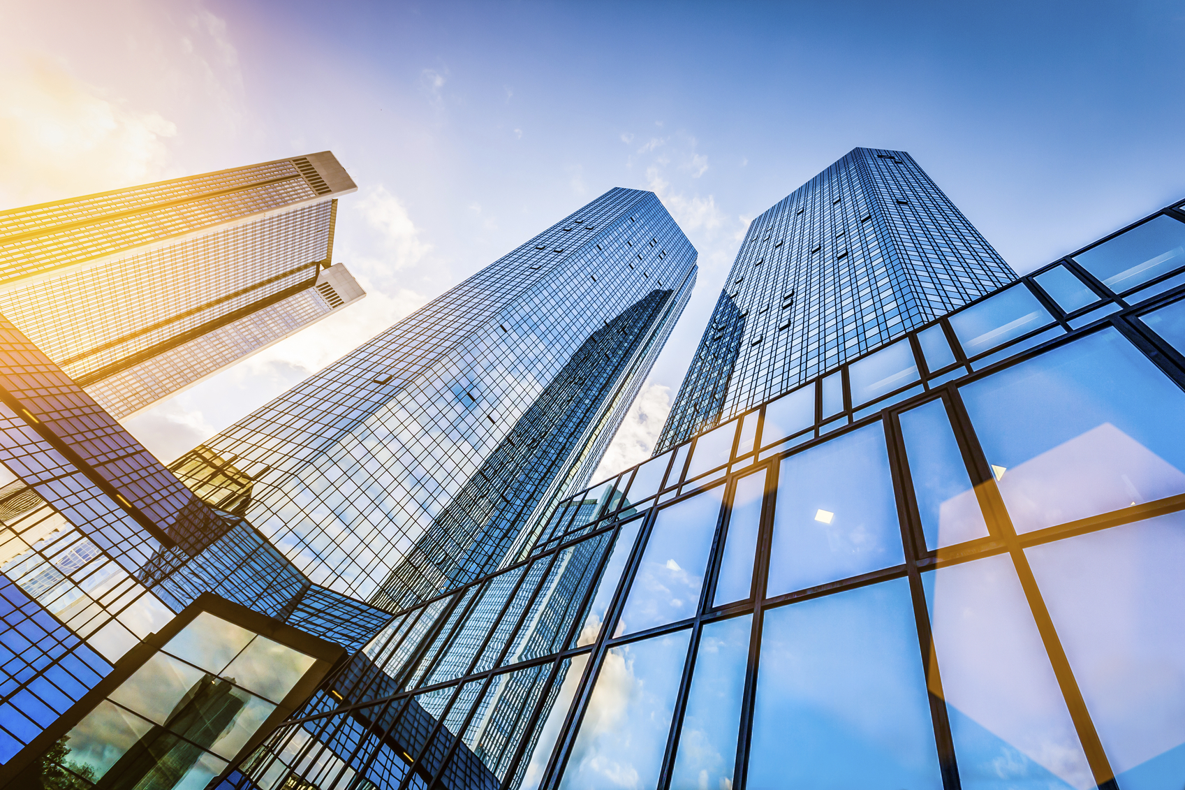 Stock photo of skyscapers