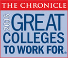 Chronicle: Great Colleges to Work for - 2016