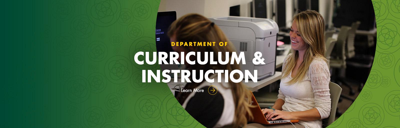Curriclum Instruction Baylor University
