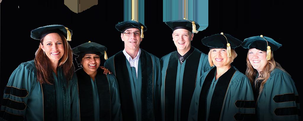School of Education doctoral graduates