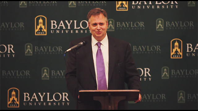 IFL director Darin Davis named Baylor's vice president for university mission