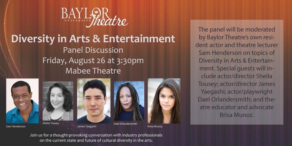 Diversity in Arts Panel